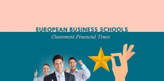 Classement écoles de commerce Europe 2019
