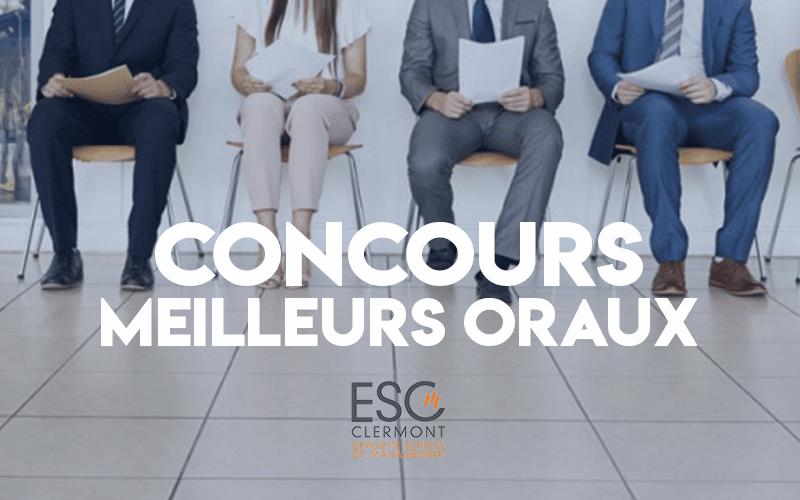 Concours Oraux Postbac 2019 ESC Clermont