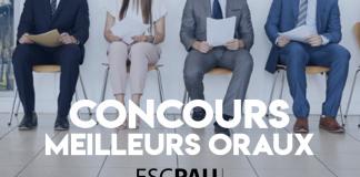 Concours Oraux Postbac 2019 ESC Pau