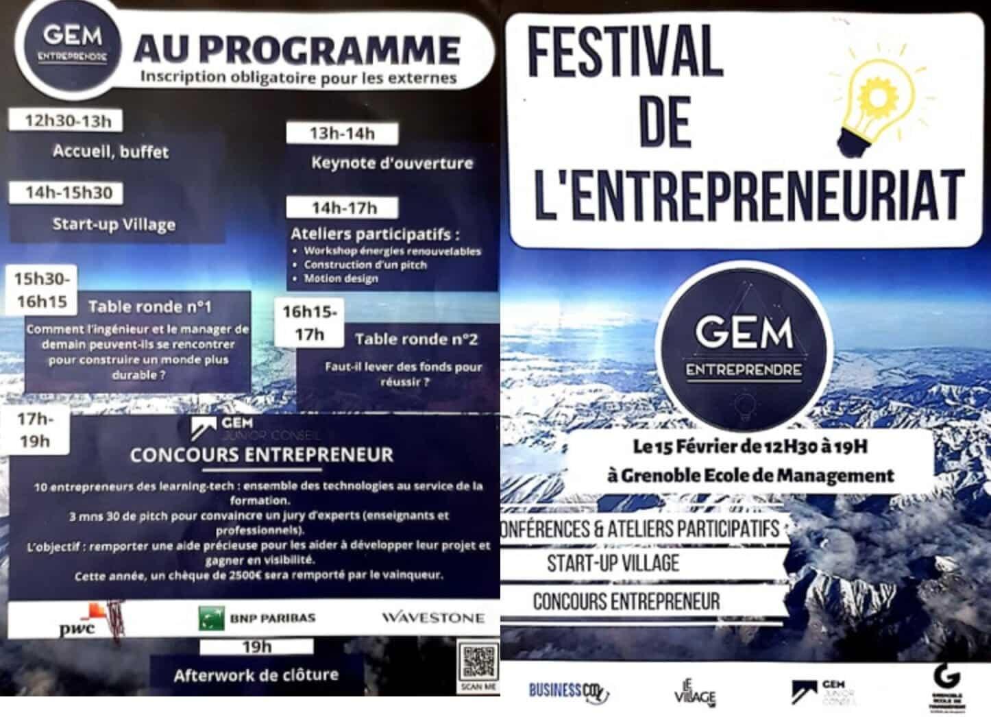 Festival de l'entrepreneuriat