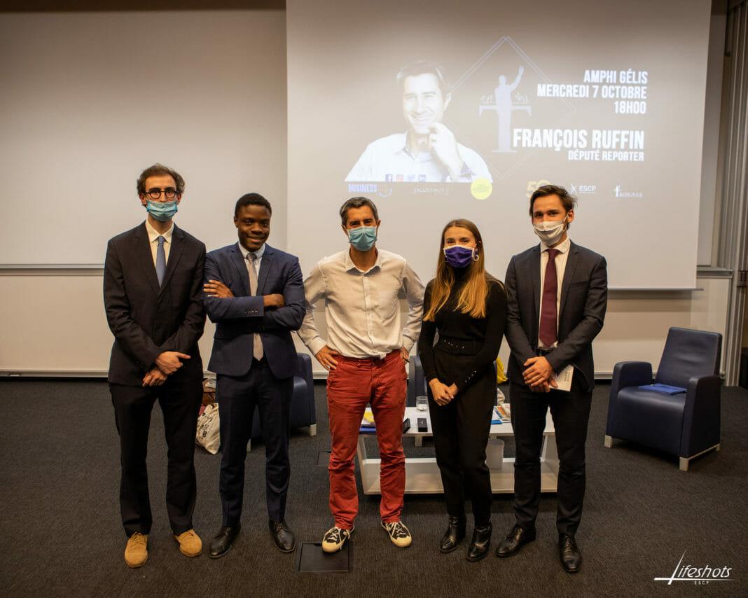 Tribunes ESCP François Ruffin
